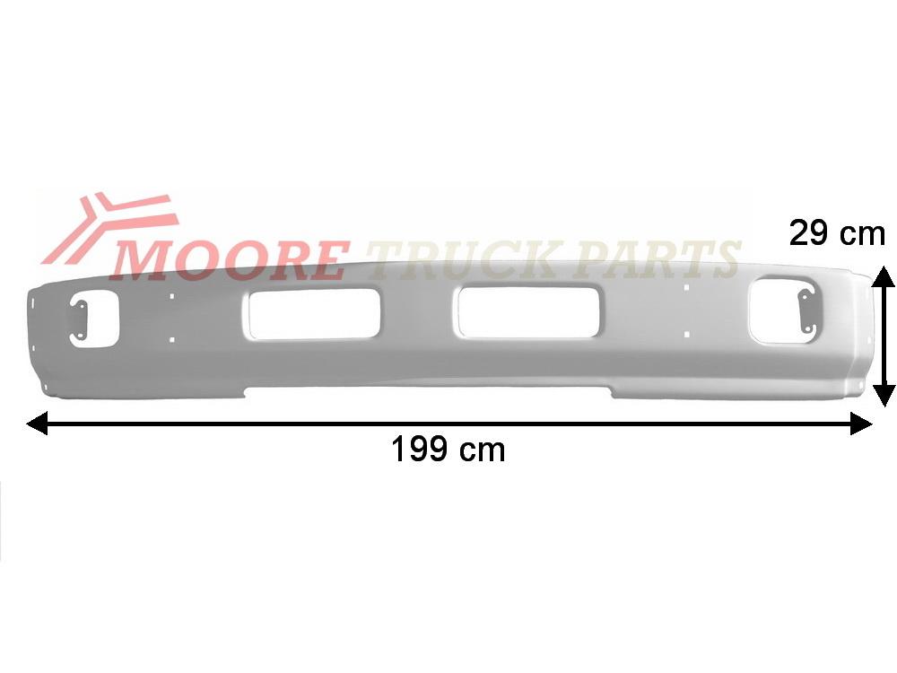 NISSAN-UD LK/MK150 1994-05 Front Bar Steel P/N: DTJ5-000-0 - Moore